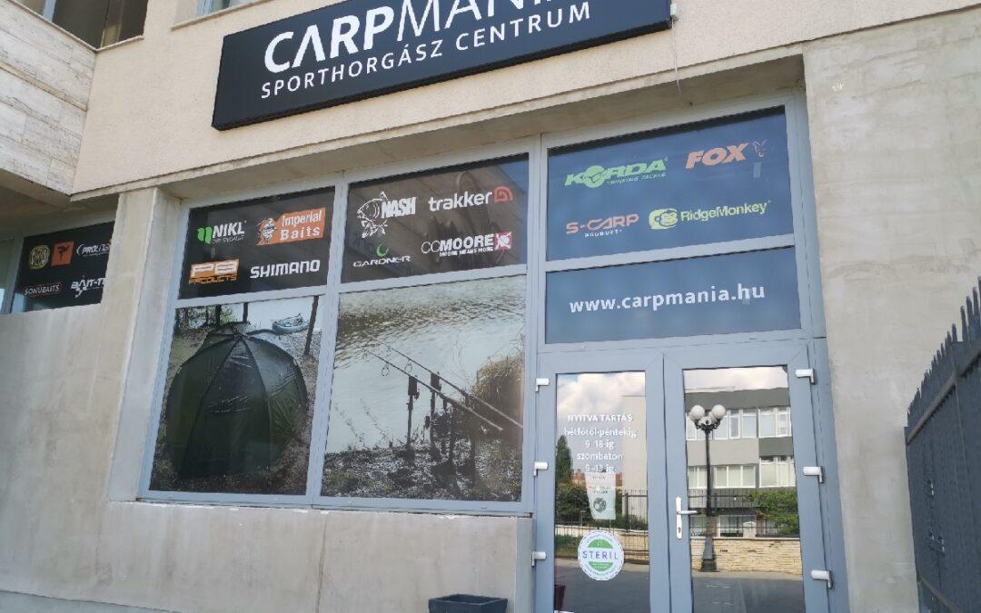 Referencia – Carpmania Sporthorgász Centrum